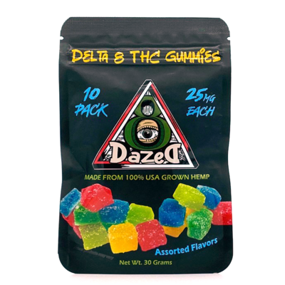Dazed 8 Gummies