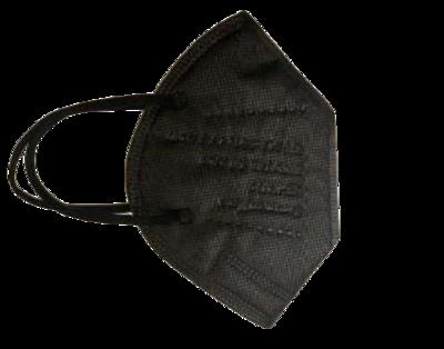 FFP2/KN95 Schutzmaske schwarz (25 Stück Packung)