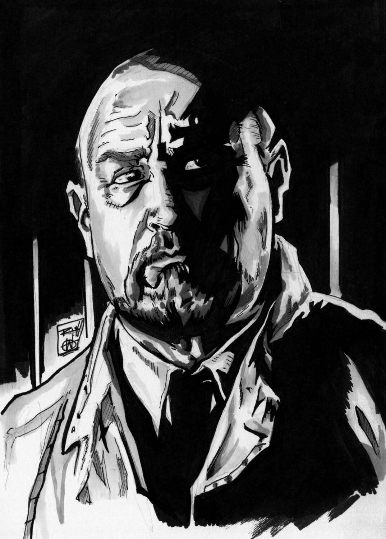 Inktober Illustration: Dr. Loomis, Halloween