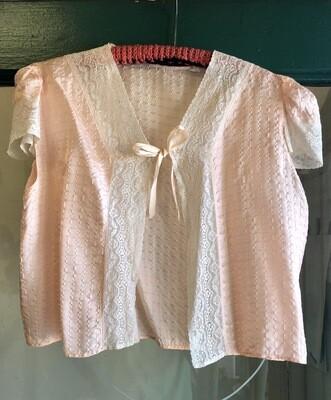 Vintage Rayon Bed Jacket