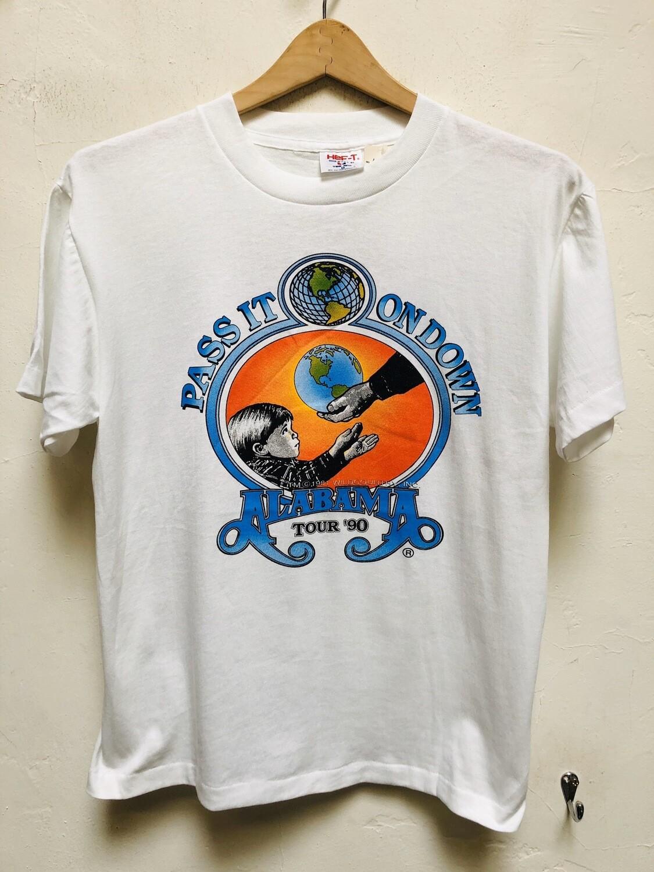 Vintage Alabama 1990 Tour T-shirt