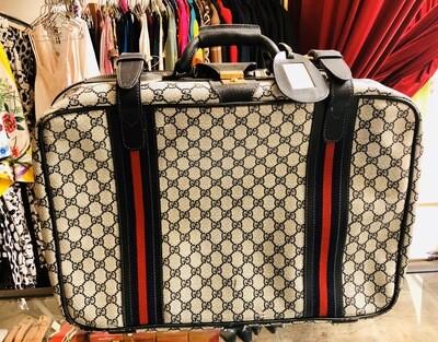 Vintage Gucci GG Monogram Small Suitcase