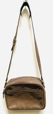 Vintage Gucci Brown Leather Camera Bag / Shoulder Bag