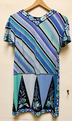 Vintage Emilio Pucci Silk Dress / 1960s