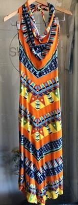 Vintage Oleg Cassini Long Dress / 1960's