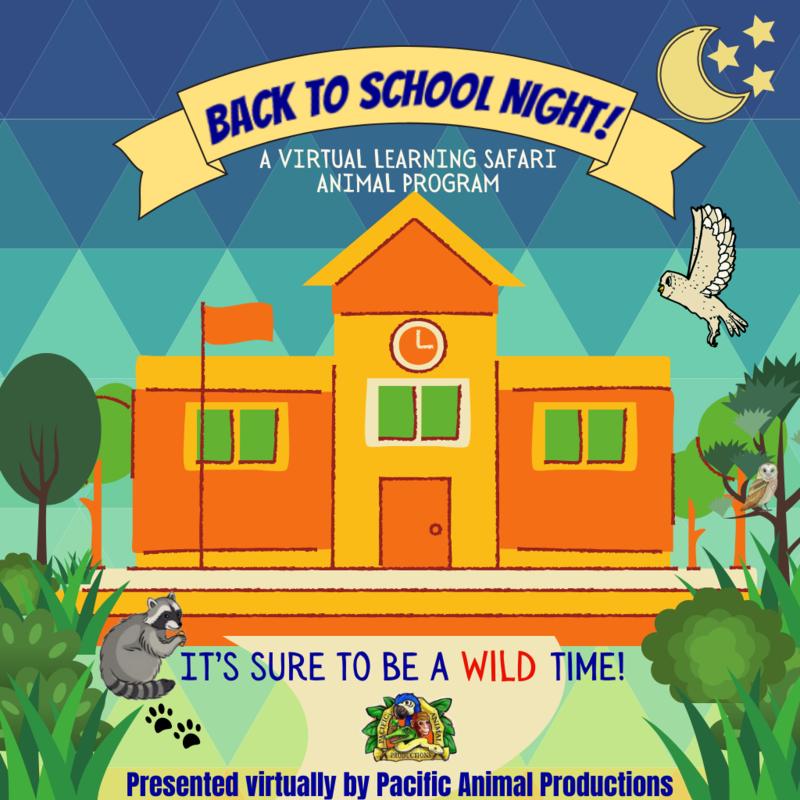 Back to School Night! - Learning Safari Animal Program - October 3rd at 6:00 PM PST