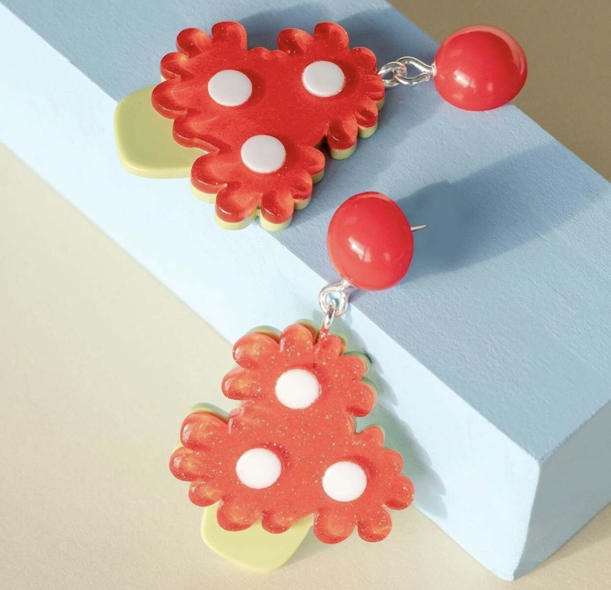 Funky Fun You Flower Pot Earrings