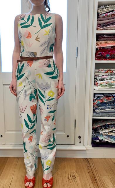 Kingston Dressmaking Princess Jumpsuit  Small