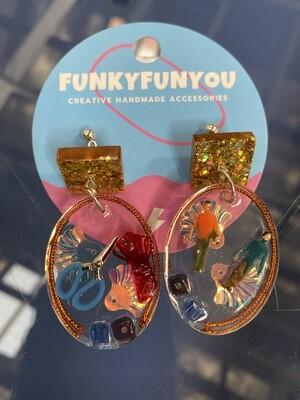 Funky fun youDress Maker Earrings