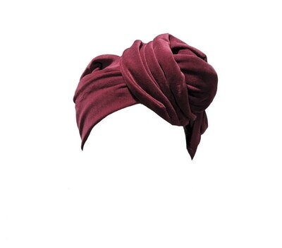 Celine Martine	Josephine head wrap cotton velveteen