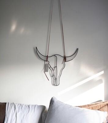 Scarlett Hunter Large longhorn Wall Hanging
