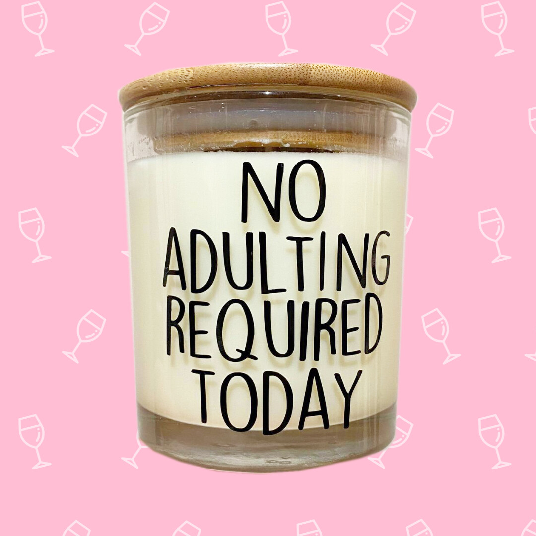 Coconut & Bosco No Adulting Required Candle