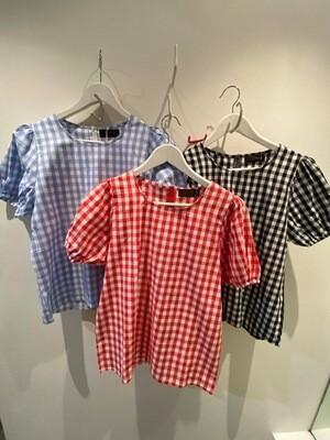 Bingo Betty Gingham blouse One Size