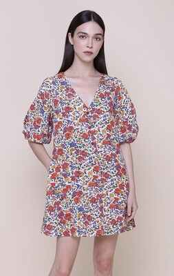 The Only labelAint all roses midi dress