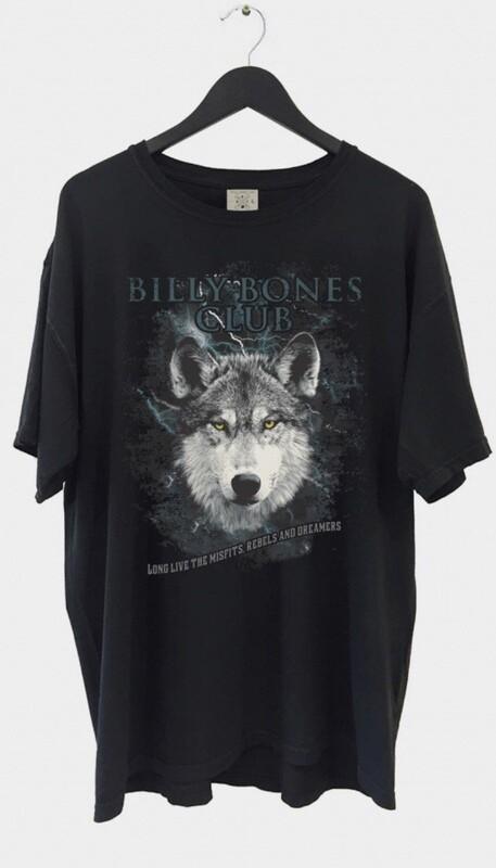 Billy Bones Club Wolf Pack Tee - Vintage Black