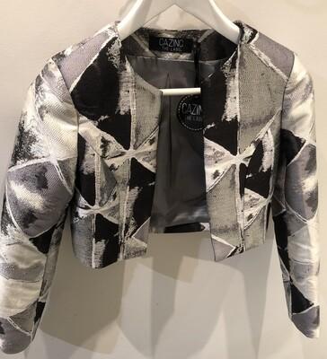 Cazinc The Label Isa Black/Silv jacket