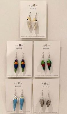 Aleja Hines Hand Painted Birds