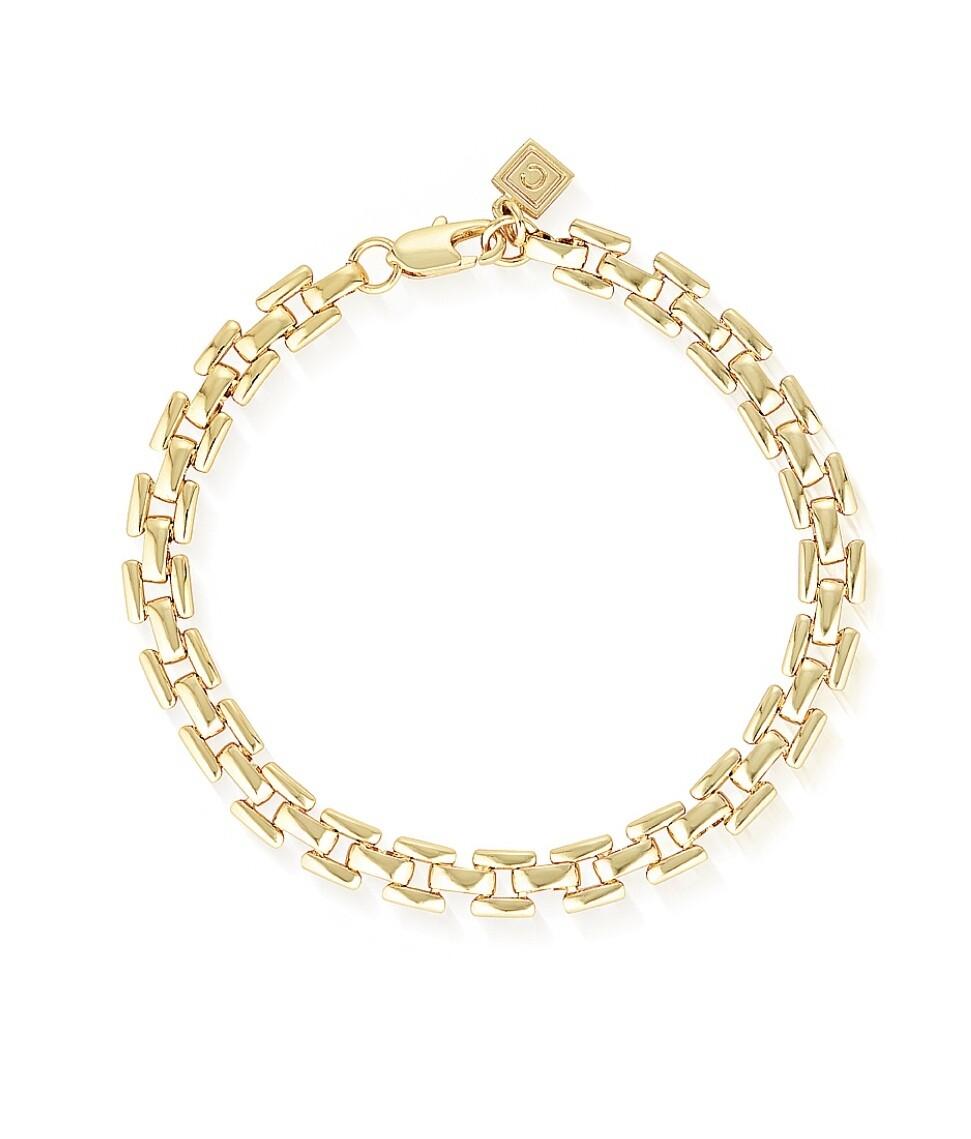 Glacier Mist Bel Air Flat chain bracelet
