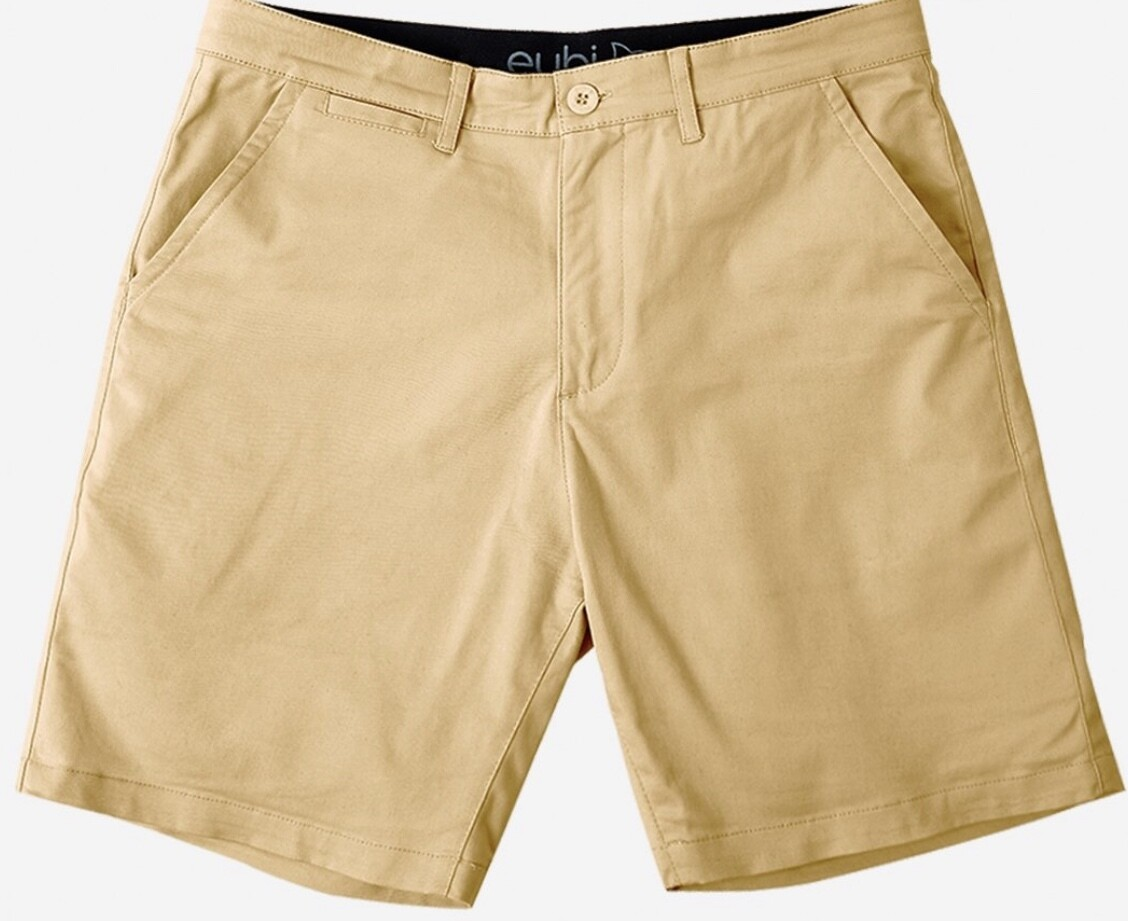 EubiKhaki Brown Chino Shorts
