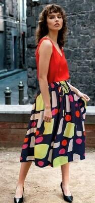 Devoi Catherine Skirt in Mixed Signals