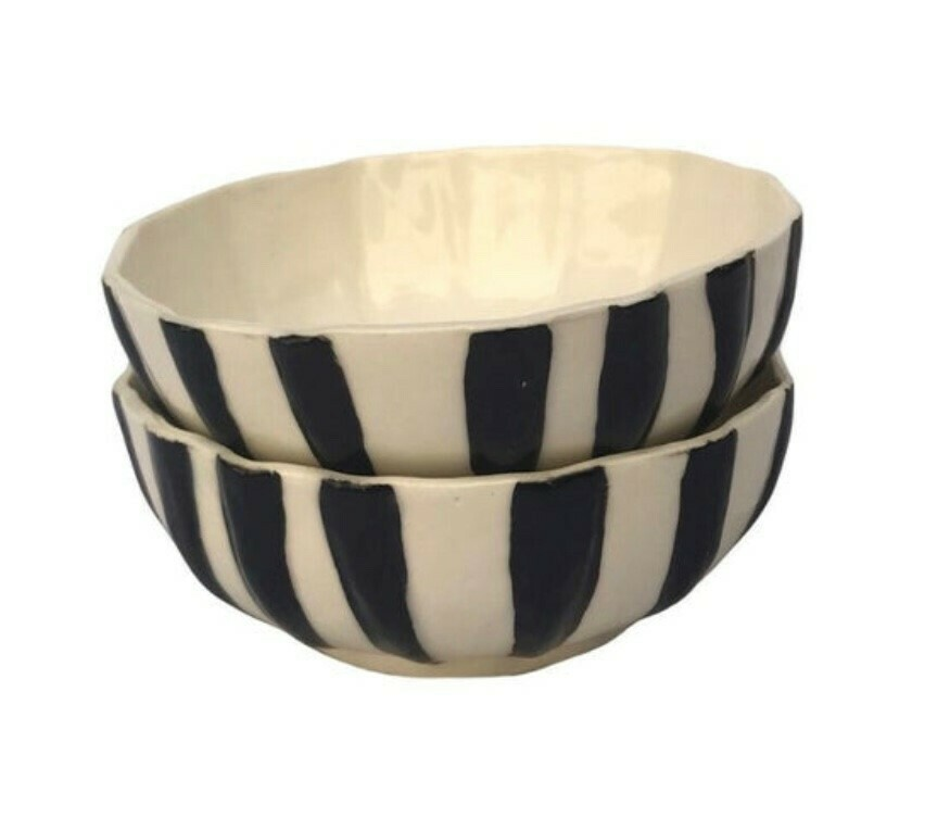 MLK Designs	B&W bowl set - 5x13cm
