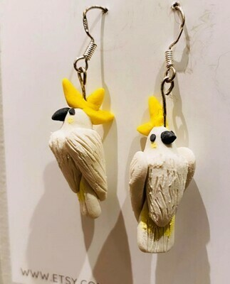 Aleja Hines Hand Painted Birds