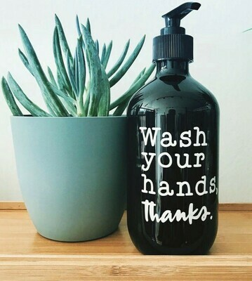 Sassy & Arbee  Reusable/Refillable Hand Wash P.E.T Bottle