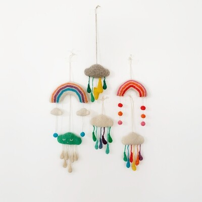 Creatures of Yarn Hanging Toys