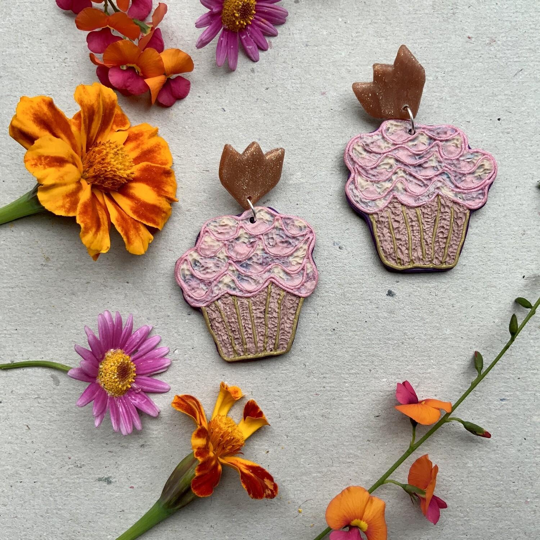 Kate Riley Creative Cupcake Earrings