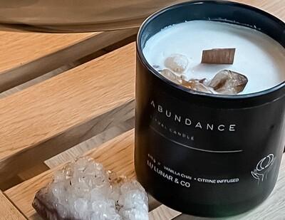 Lu Lunar & Co Abundance Ritual Candle