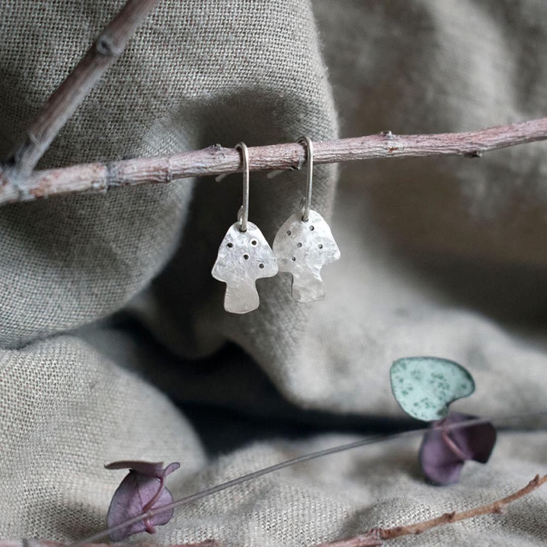 Maker & Element Mushroom Lane Earrings