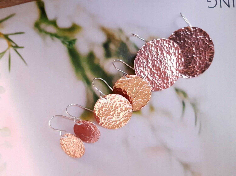 Miss Flower Creations Copper Earrings