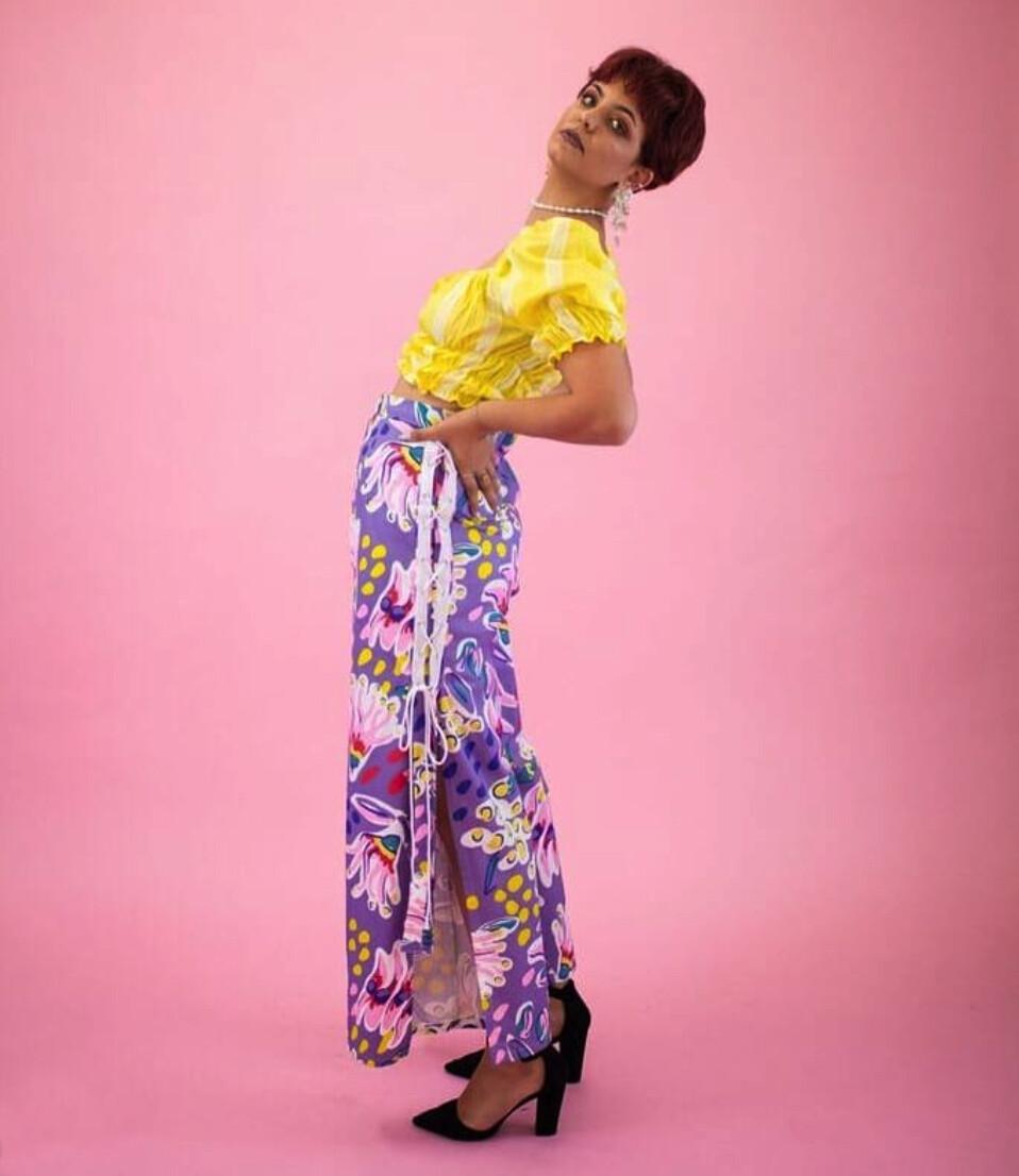 Olive the Label Purple Cosmopolitan Pants Size 12