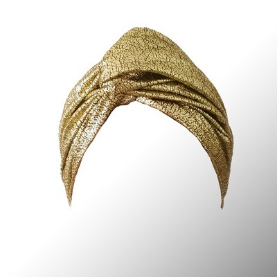 Celine Martine Josephine Wired Head Wrap Gold