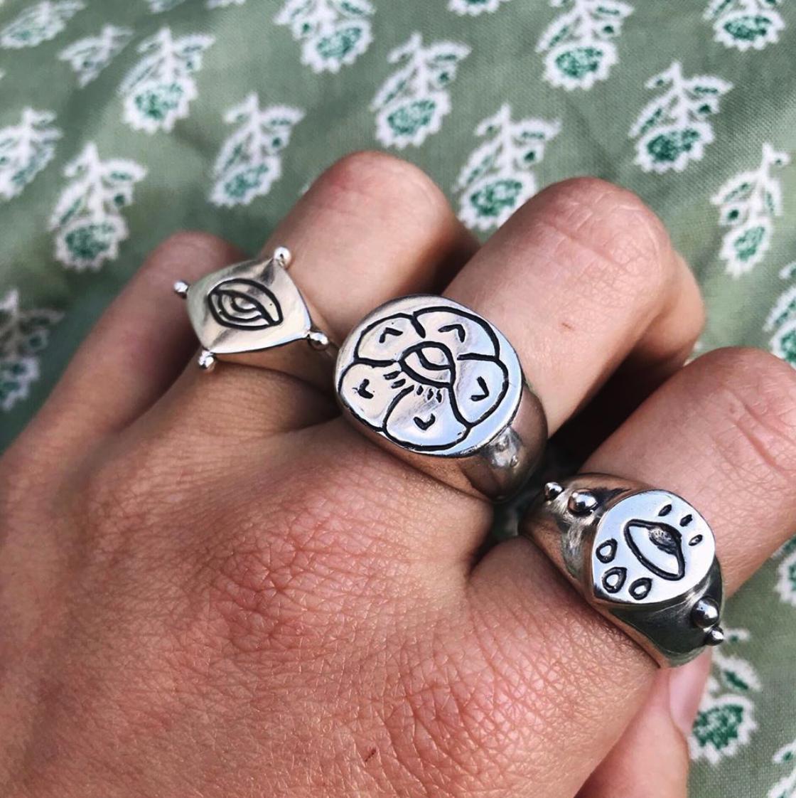 Peyote Jewels Rings - Assorted