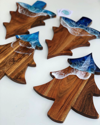 Willow & Sea Christmas Tree Cheeseboards