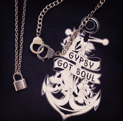 Gypsy Got Soul Padlock Necklace