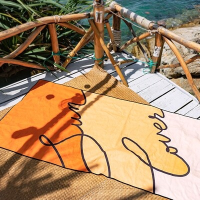 The Summer Chaser Sun Lover Towel Reversible