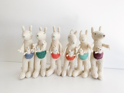 Creatures of Yarn Roo and Joey Toys