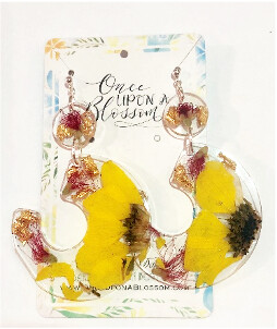 ONCE UPON A BLOSSOM EARRINGS