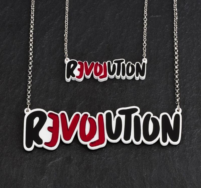 MAINE & MARA REVOLUTION NECKLACE