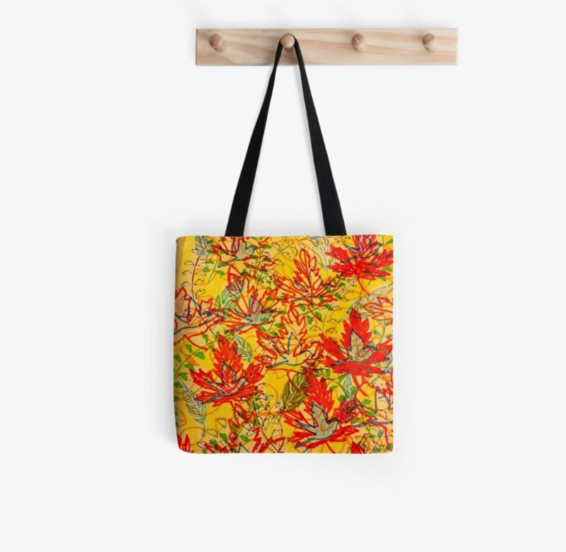 KATAPILLAR DESIGN Leaves Tote Bag