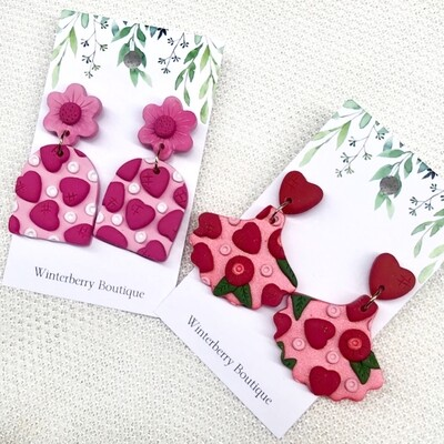 WINTERBERRY BOUTIQUE VALENTINES EARRINGS