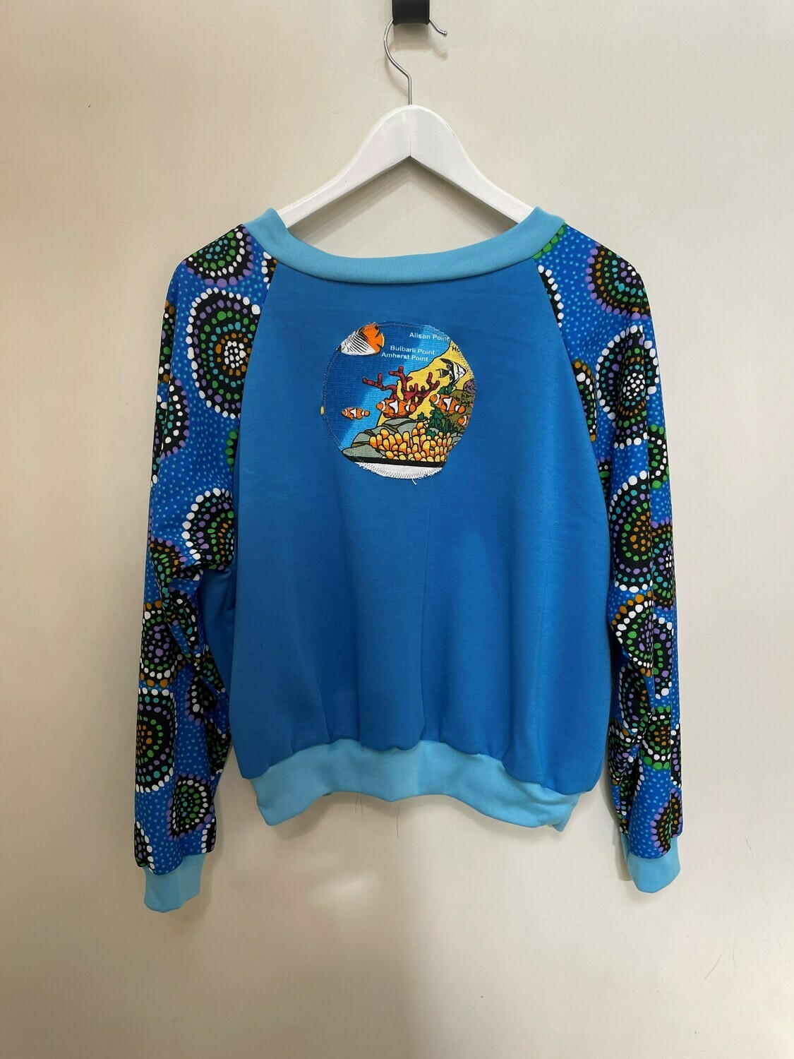 Unsunk Funk Clothing Reef Print Pullover - Free Size