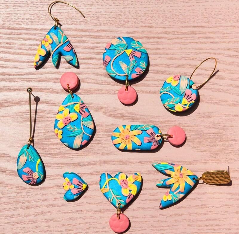 Rexlington Crafts Midnight Earrings