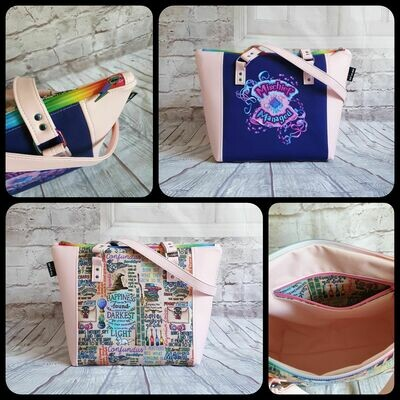 CBTHREADERS HP TWICER MISCHIEF TOTE BAG