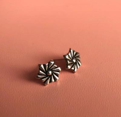 SEBO JEWELLERY FLOWER FAN EARRINGS
