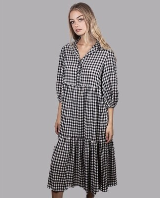 FUJINELLA - GO TO FROCK IN CHECK
