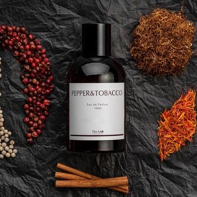 The Lab Fragrances - Pepper&Tobacco Eau De Parfum 100 ml