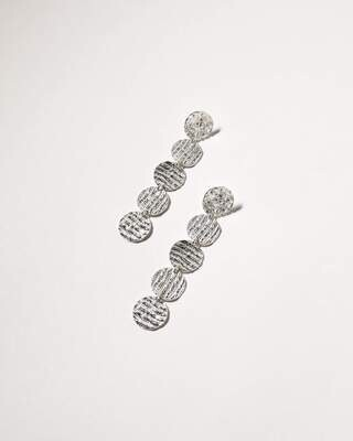 DANICA MOORCROFT - Curl Curl Earrings (Large), Sterling Silver